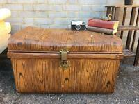 GENUINE VINTAGE TRUNK FREE DELIVERY 🇬🇧