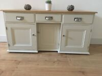Beautiful hand painted sideboard/tv unit