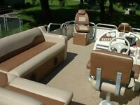 Muskie Marine Coverings - boat covers, tops, upholstery, etc