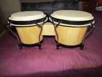 Bongo Drums in soft carry case