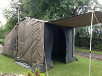 Oztent RV-5 + Deluxe Side Panels & Front Panel - The 30 Second Tent - Landrover VW Defender T4 T5