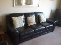 Gillies store leather sofas