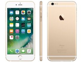 *Factory Unlocked - Excellent* 128GB Apple iPhone 6S Plus+ Gold 4G/LTE latest iOS 11.4.1