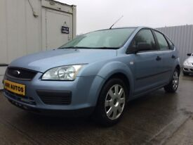 05 Ford Focus 1.6LX 5dr Hatchback - MOT July - Service Record - PX WELCOME
