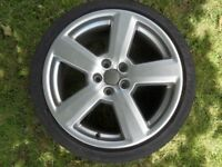 Audi Alloy Wheel 18 inch Ronal Style RS4 Refurbished