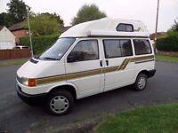 Volkswagen TRANSPORTER 2.4 Diesel 1992 K reg Holdsworth Villa Motorhome £7895