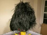 Various Feather Bonnets