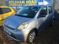DAIHATSU SIRION 1.0cc @ AYLSHAM ROAD AFFORDABLE CARS
