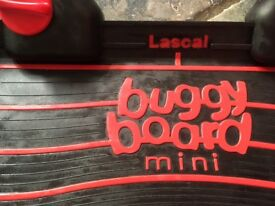 Lascal buggy board with universal connectors
