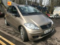 Mercedes A Class 2006 A150 1.5 Petrol - Breaking for spares