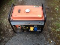 Petrol frame type generator, good condition, good runner.