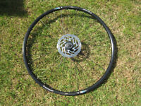 Bontrager TLR front 29er wheel , disc hub