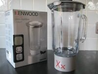 KENWOOD GLASS BLENDER AT338 ATTACHMENT for Kenwood Chef/Major - BRAND NEW & UNUSED