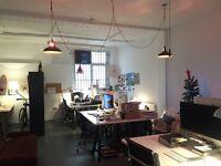 Large Desk Spaces Available in Creative Studio, Whitechapel