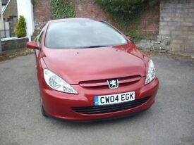 PEUGEOT 307 2.0 1.6v COUPE CABRIOLET 180 SPECIAL EDITION