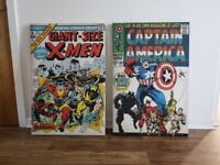 Two large Marvel canvas.