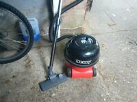 Henry vacuum cleaner with hose and pipes with floor attachment powerfull vgc gwo