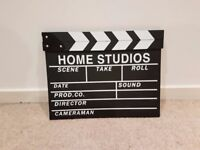 wooden movie clapper for sale