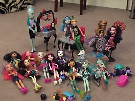 Monster High Dolls - great condition