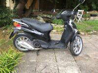 Piaggio Liberty 125 moped