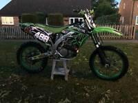 Kxf450 efi 2010