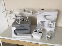 Dji Phantom 4 Drone 2 batteries