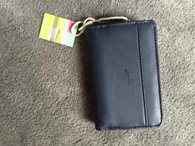 Joules navy purse - brand new