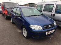 04 REG FIAT PUNTO 1.2 8V ACTIVE 5DR-12 MONTHS MOT-LAST OWNER FOR 7 YEARS-IDEAL 1ST CAR DRIVES WELL