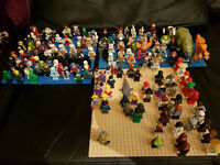Lego Minifigures! Star Wars, SuperHeroes, Ninjago, Movie, Chima, NBA, Jurassic Park, Polybags...