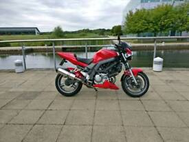 2006 SV650 N K5 with Uprated Suspension