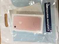 NEW & SEALED iPhone 7 32gb Rose Gold