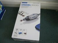 DREMEL 3000 MULTI TOOL WITH QUICK CHANGE CHUCK AND 216 ACCESSORIES
