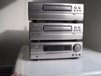 Denon D-77 system. Bargain price, all working