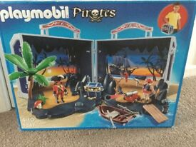 Playmobil carry case pirates brand new unopened box