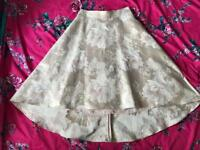 Next size 14 Gold Occasion Skirt- BRAND NEW
