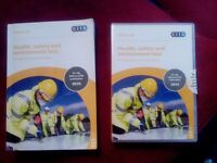 Citb. Health and safety enviroment test offical dvd-rom 2015 with paper back book
