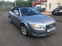 Audi A4 1.8 T convertible 2006 06 plate full service history and mot