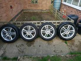 "Audi Alloys & Tyres 18"" 5x112"