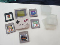 Original Nintendo Gameboy with 5 Games