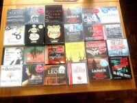 Audio Books - CDs. Unabridged. A selection of titles.