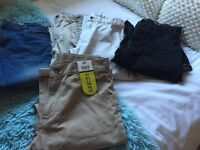 Bundle of boys aged 11-12 jeans & chinos as new