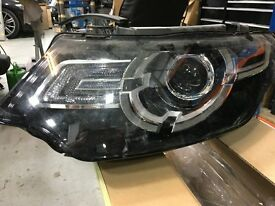 LAND ROVER DISCOVERY 2014 XENON HEADLIGHT AND GRILLE