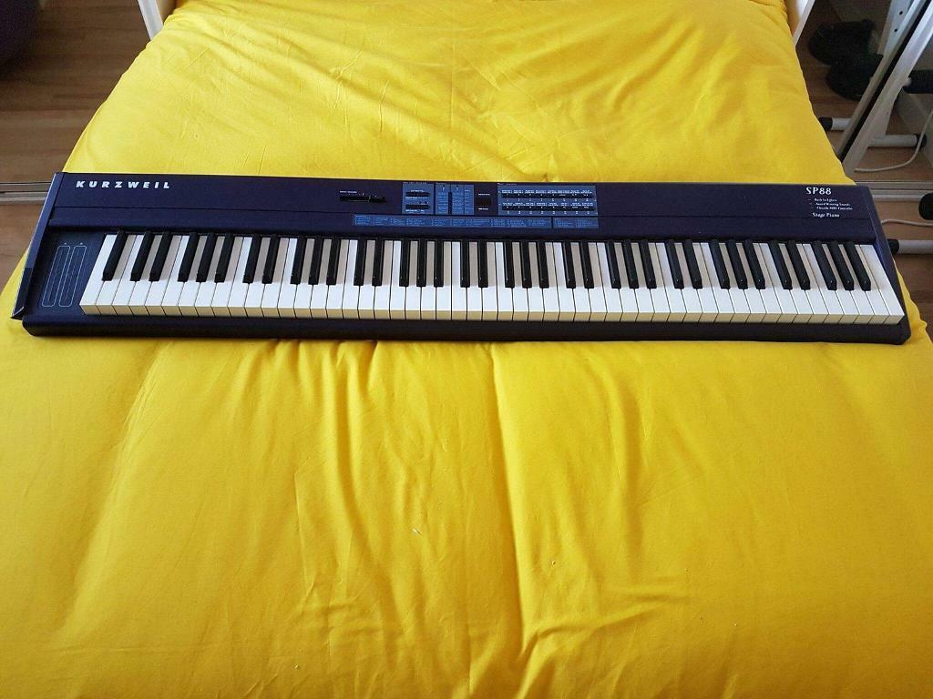 Kurzweil SP88 Digital Stage Piano + Manual +