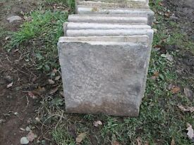 Concrete Paving Slabs - Quantity 100, used & in great condition - 450x450x35mm - !! £2 each !!