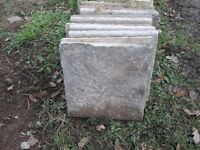 Concrete Paving Slabs - Quantity 160, used & in great condition - 450x450x35mm - !! £2 each !!