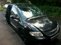 Chrysler grand voyager 2.5 crd fully loaded. Long MOT .Spares or repair