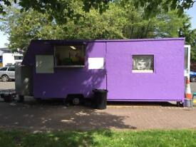 Catering trailer Burger van food truck