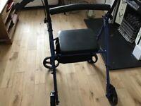 4 wheel foldable rollator