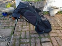 Titleist 'Audi' Golf Carry Bag with some free golf goodies.