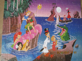 FABULOUS PETER PAN + FRIENDS JIGSAW PUZZLE in IMMACULATE CONDITION - 100 pieces all there!